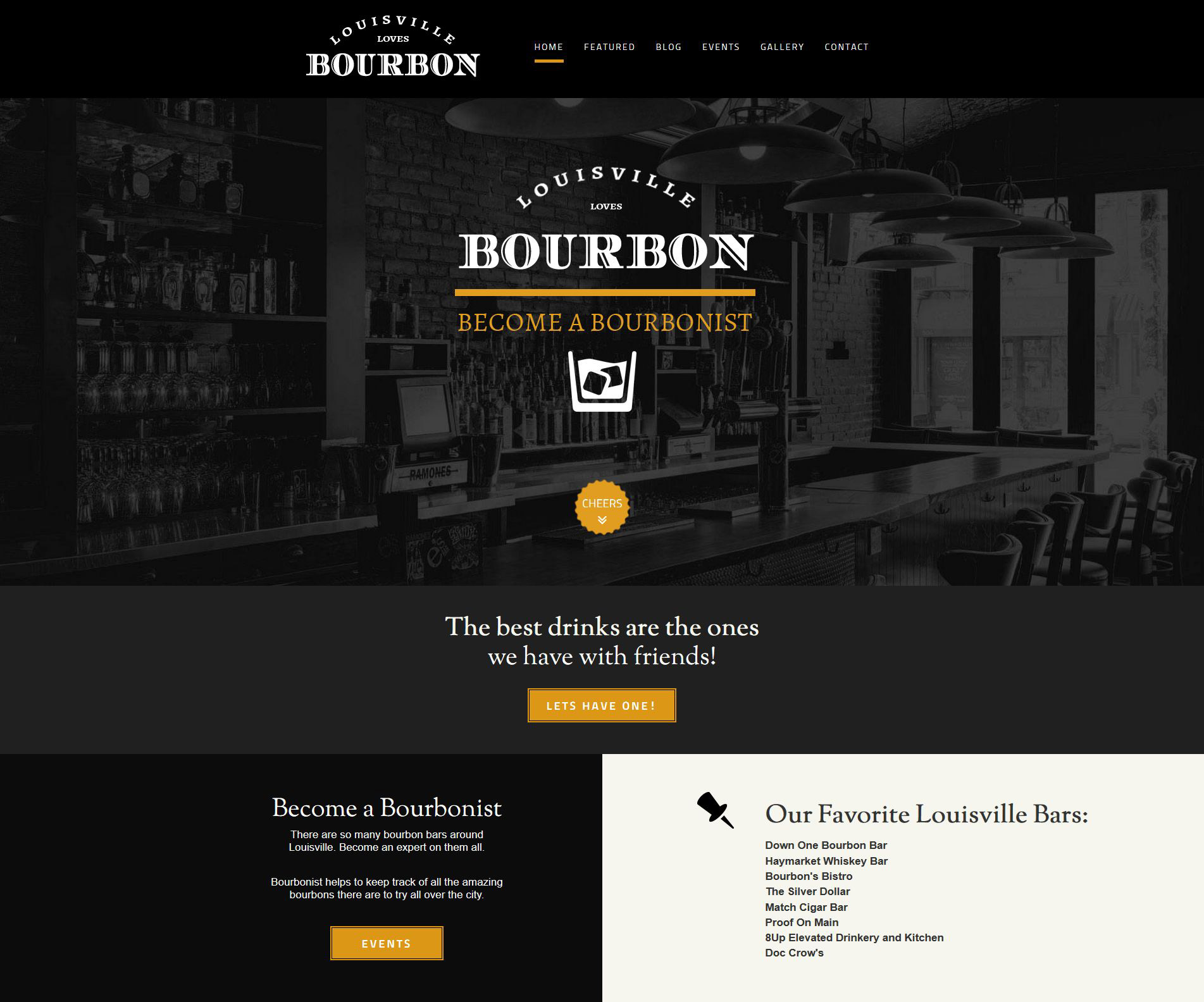 bourbonist front page