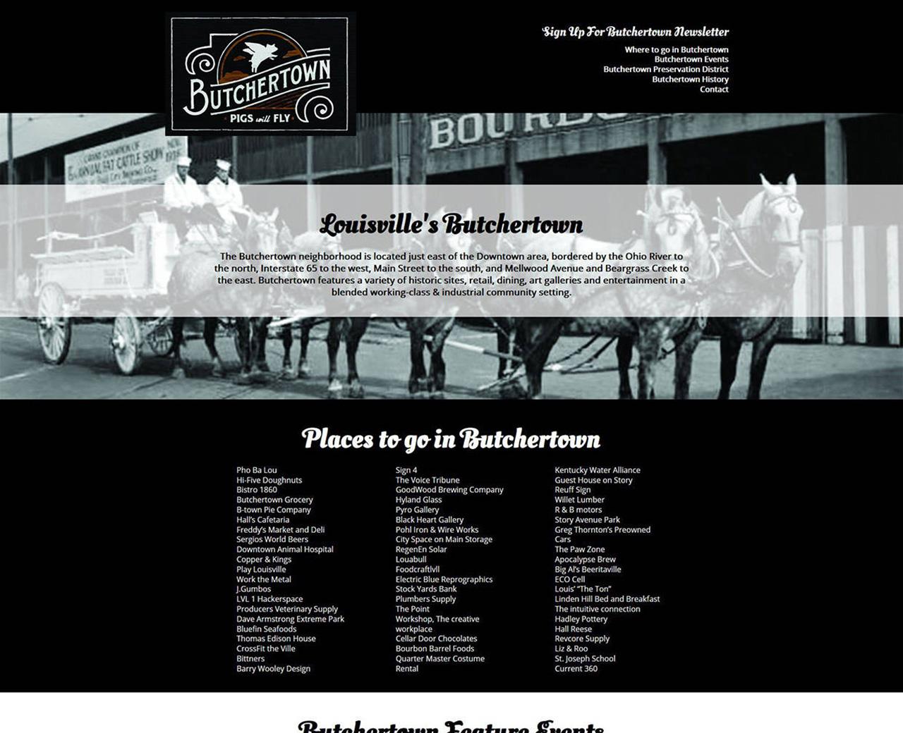 Louisville Butchertown - Louisville Web Design - Louisville SEO