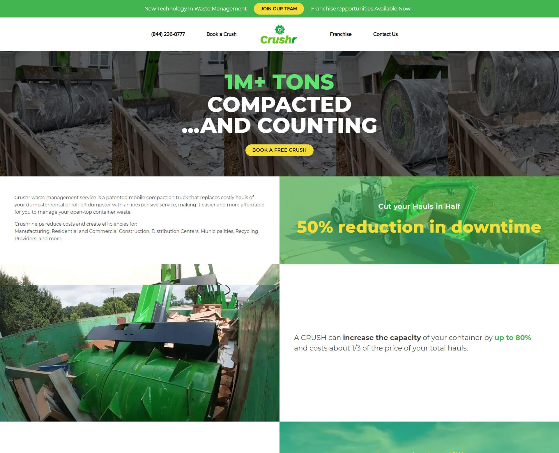 DumpsterCrushr Portfolio image